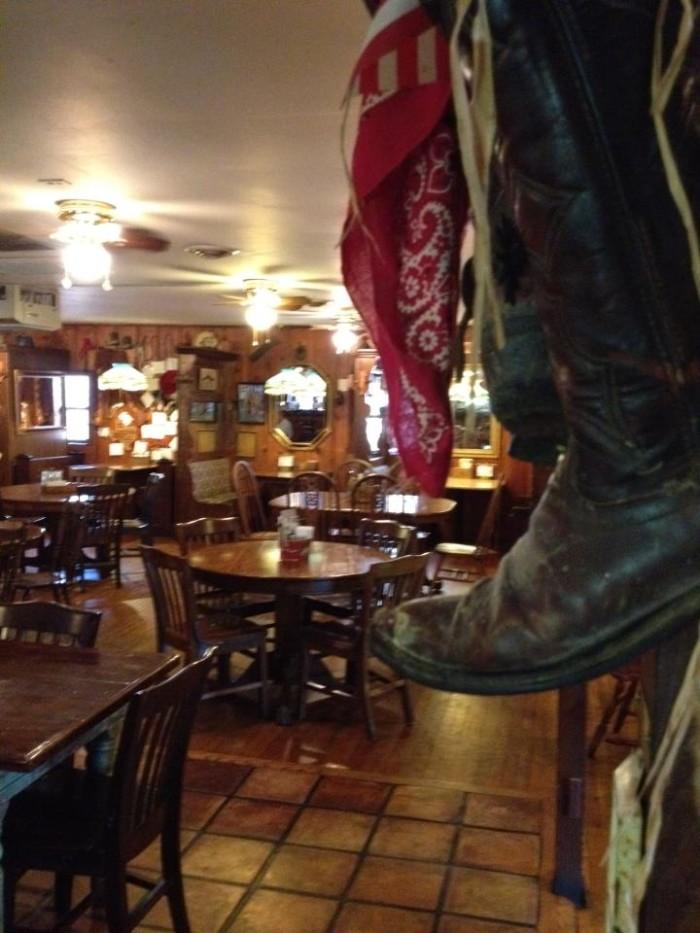 3.2. The Open Range Steakhouse, Willow Springs