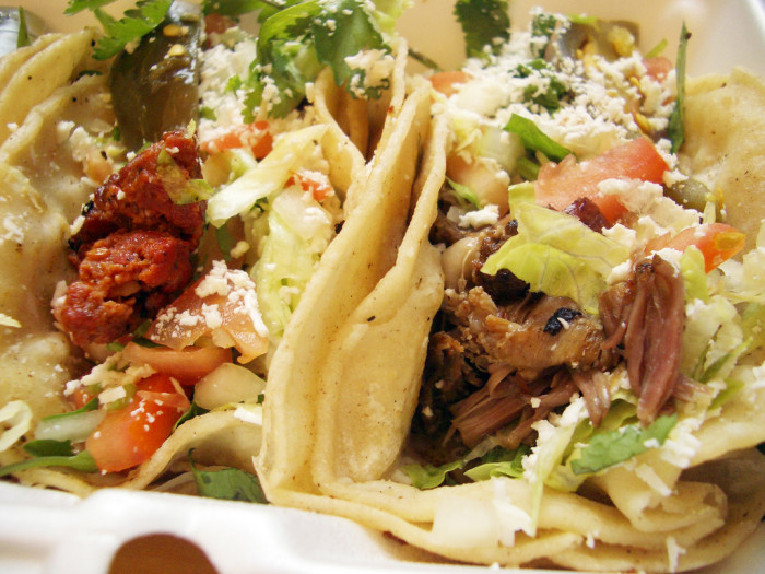 4. Outside of the Southwest in general, you'll have a difficult time finding delicious Mexican food.