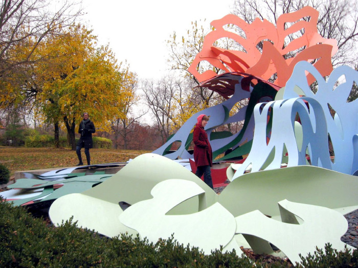12. Check out Ohio's outdoor sculpture park.