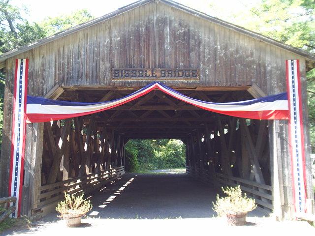 12. Bissell Covered Bridge, Charlemont.