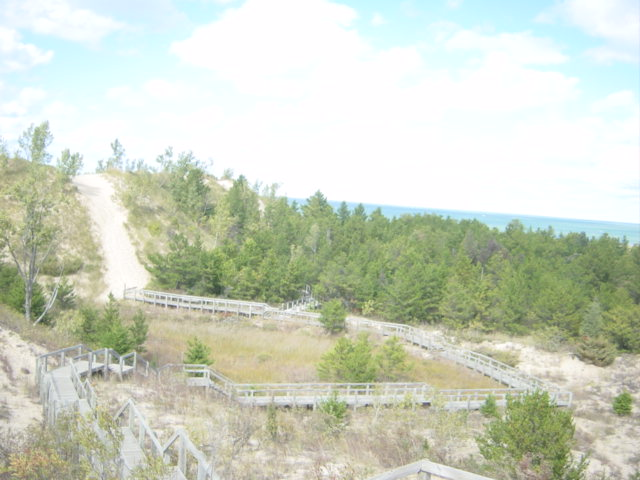 5. Stop by the Indiana Dunes