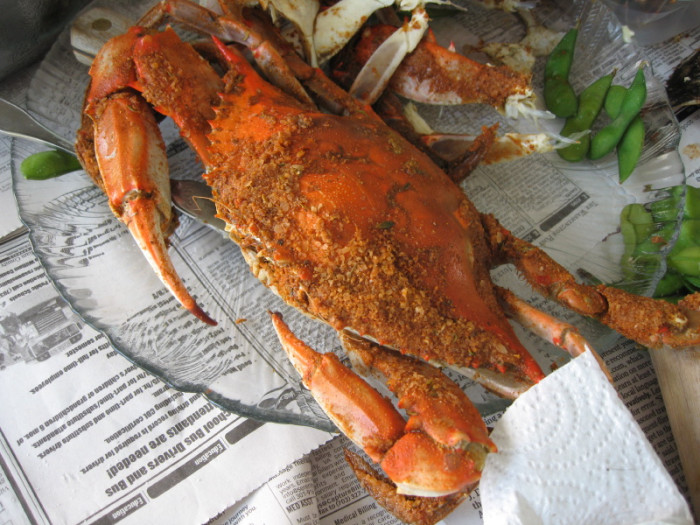 3. Blue Crabs
