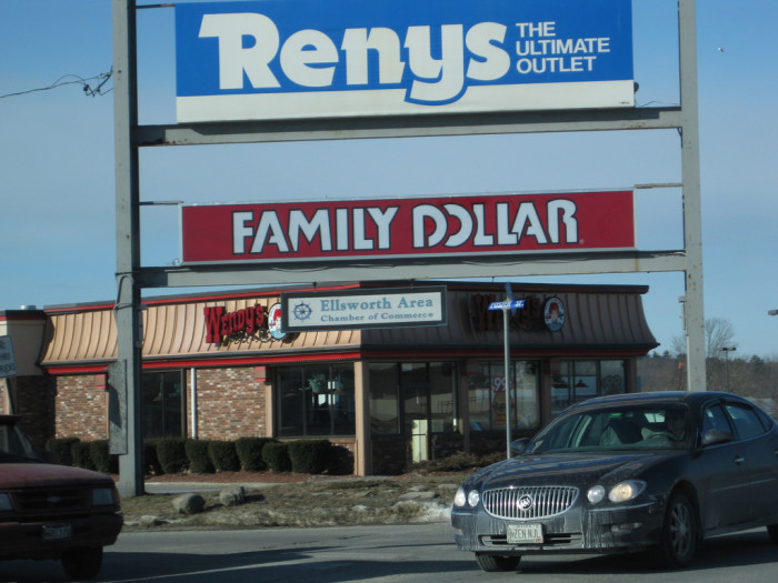11. Buy cupcake mix, a snow shovel and a toilet plunger in one trip to Reny's.