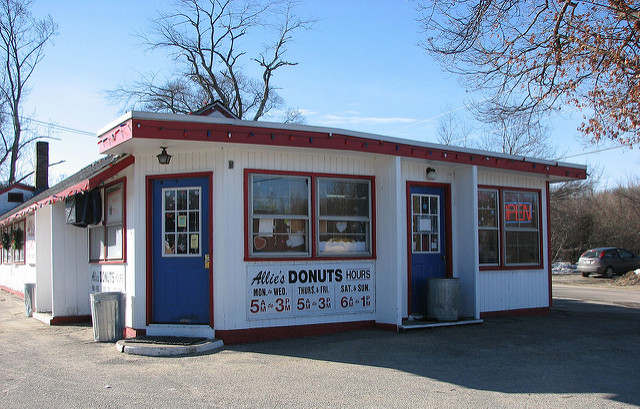 7. Allie's Donuts, North Kingstown