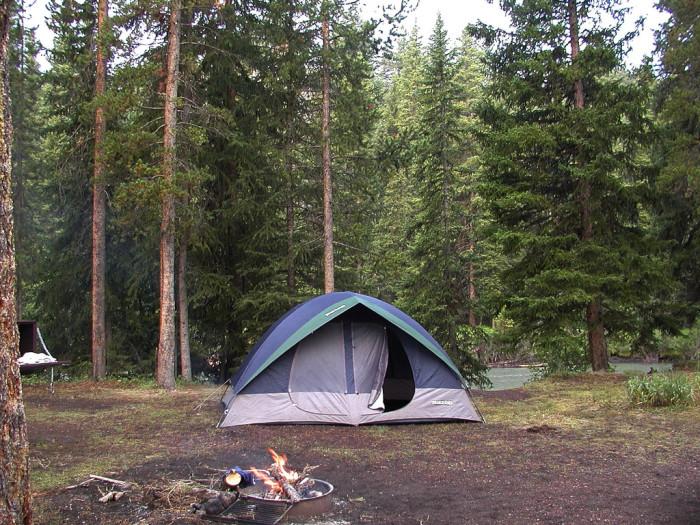 12. Hunter Peak Campground