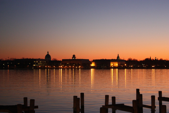 5. Annapolis is glowing in this picture perfect photo.