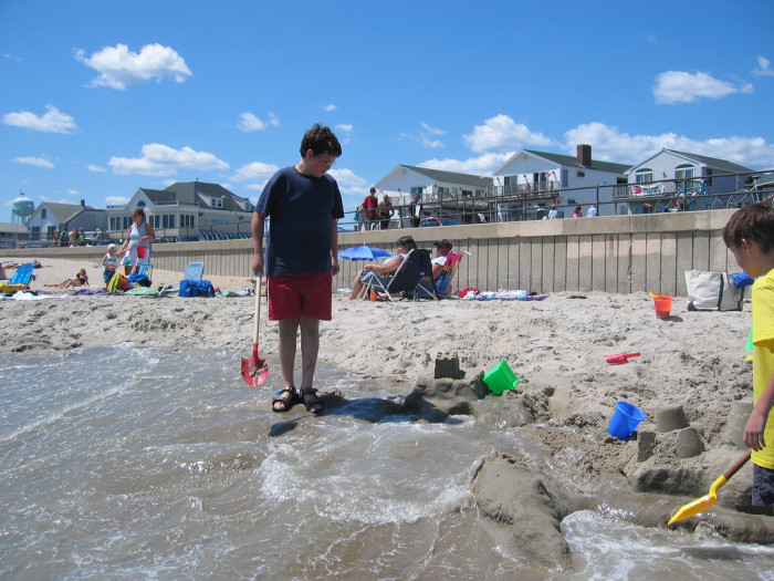 1. Put your toes in the sand at Hampton Beach.