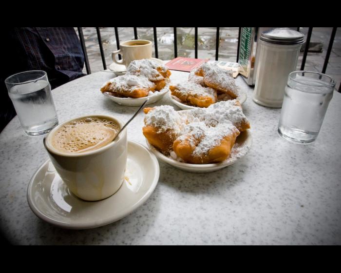 18) Beignets from Café du Monde
