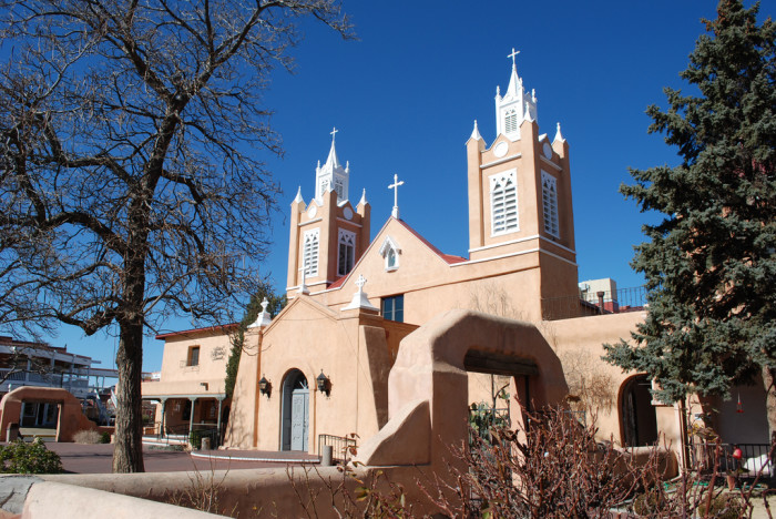 10. There are many historic churches in New Mexico, such as Albuquerque's San Felipe de Neri Church, which was built in 1793.