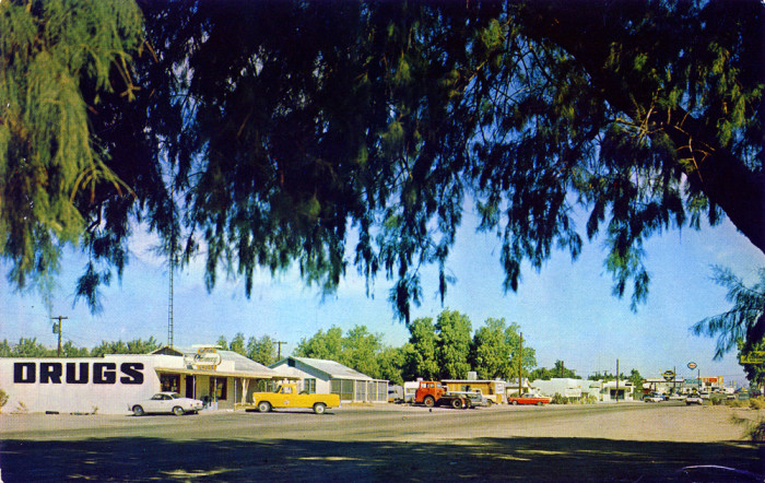 1. Here's a look at a quiet street in Bullhead City sometime in the 1960s. How much do you think the city has changed?