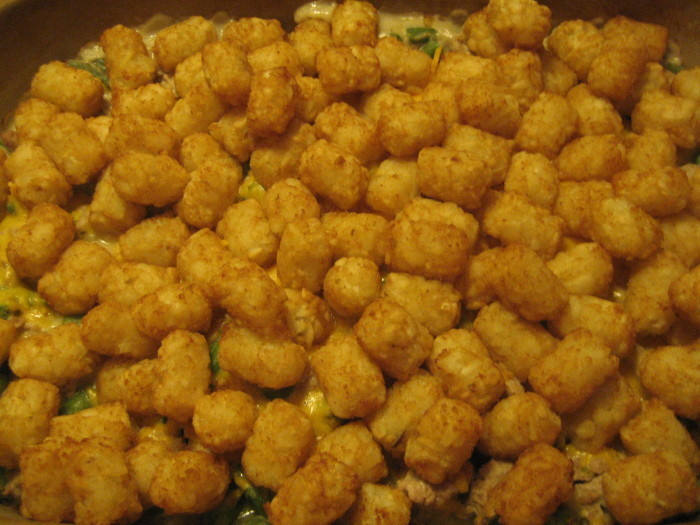 10. Cook up some good old fashioned tater tot hotdish.