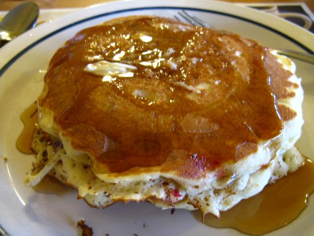 10. Stone ground pancakes