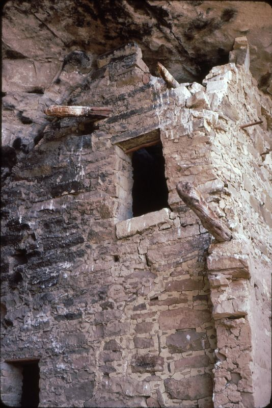 11. Why did the Puebloans work so hard to create their cliff dwellings? It's because the dwellings provided protection against invading groups through the absence of ground-floor doors and windows.