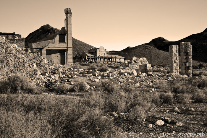 10. ...explore one of the state's famous ghost towns.