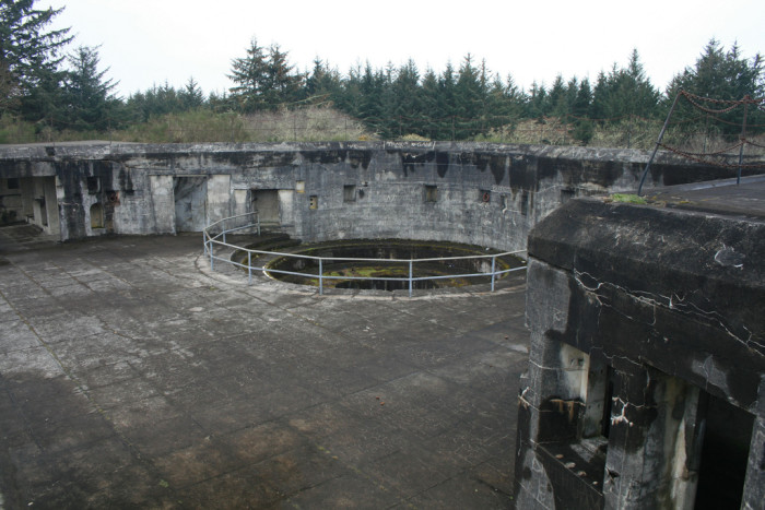1. Battery Russel at Fort Stevens State Park.