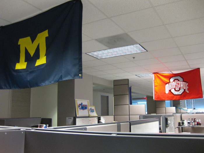 3. If you should happen to stumble across a Michigan fan, be sure to set them straight.