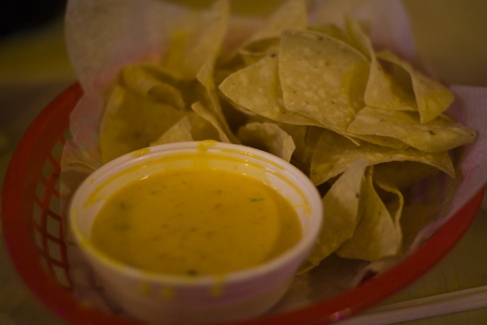 13. Eat chips and queso.