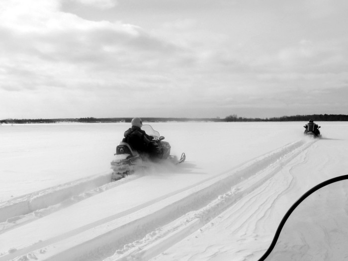 3. Like most of the midwest, North Dakota is known for its harsh, cold winters, but North Dakotans embrace this chill for some awesome winter activities like snowmobiling and ice fishing.