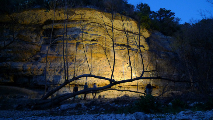 4. Ready for a real adventure? Go rock climbing at the famous Greenbelt