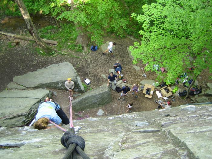 3. Rock Climb at Carderock