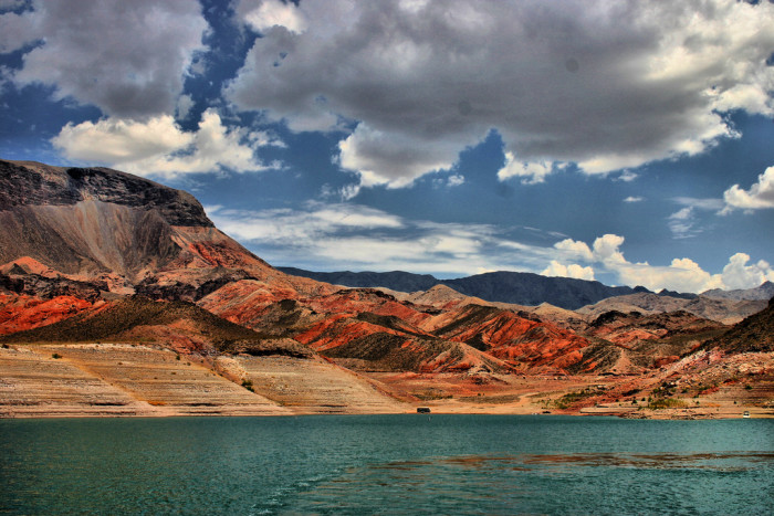 4. Lake Mead in Mohave County, Arizona