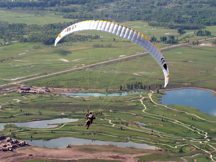10. Paragliding In Jackson Hole