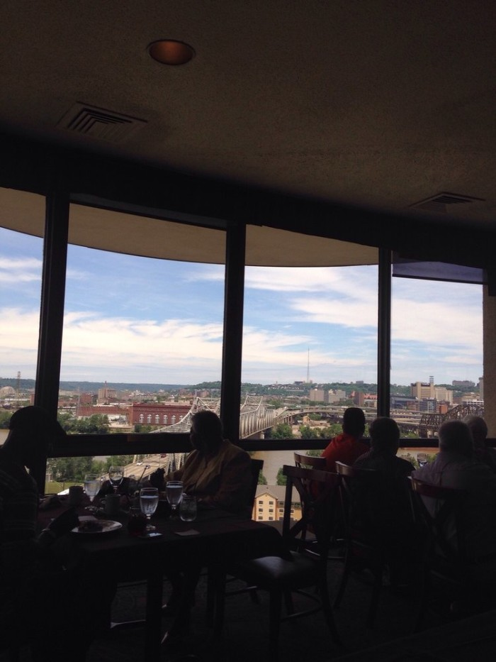 6. 360 Revolving Restaurant at Radisson Hotel on 668 W Fifth Street in Covington