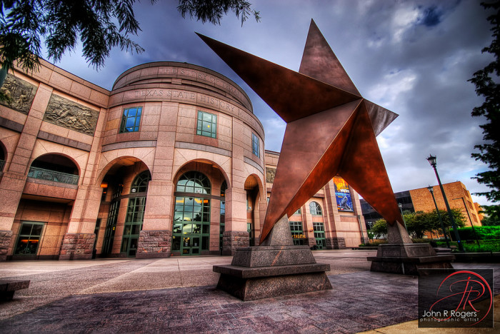 10. Take an entire day off to veg out - And watch a flick on the beautiful IMAX screen at the Bob Bullock Museum.