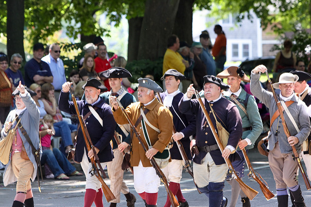 11. Gaspee Day Parade, Pawtuxet Village