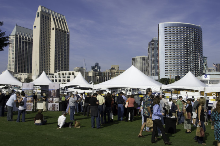 12. San Diego Bay Wine and Food Festival