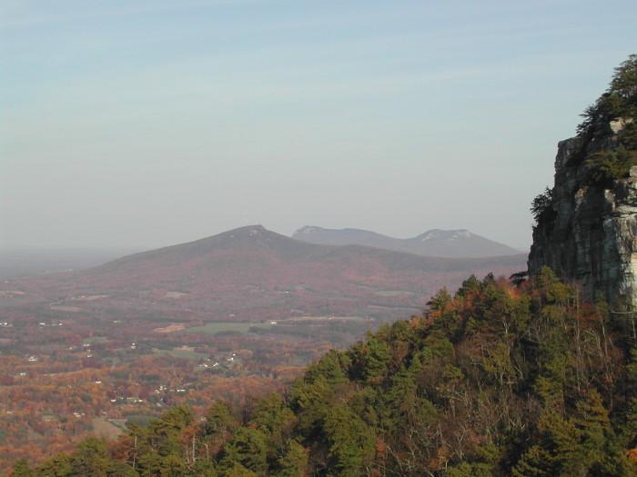11. Pilot Mountain Scenic Overlook