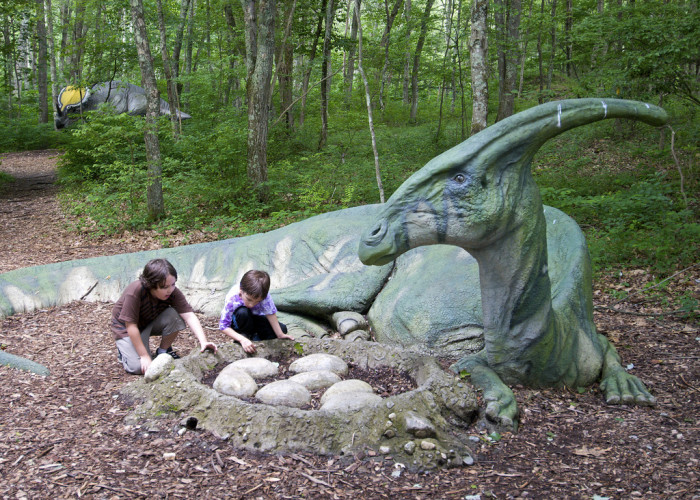 9. The Dinosaur Place at Nature's Art Village, Oakdale