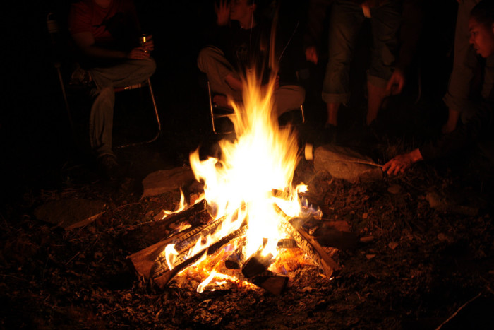 14. Your weekend isn't complete without smelling or lighting at least one bonfire.