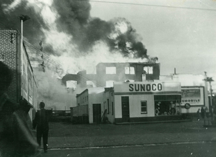 9. A fire in Wilmington in April 1950 was said to have been started by a boy and a broom.