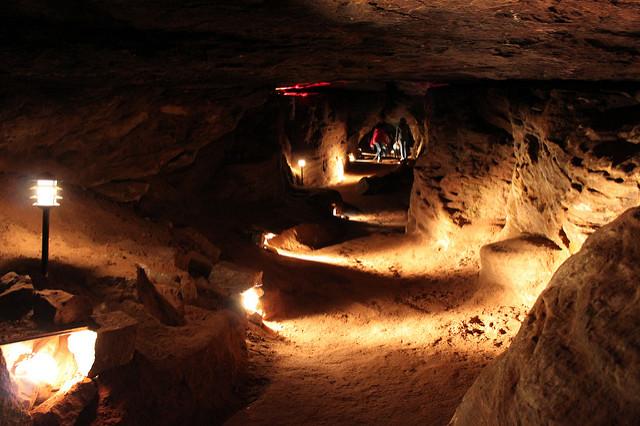 3. Laurel Caverns in Wharton
