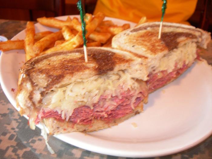 9. Reuben sandwiches