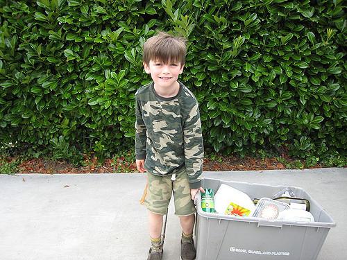 camoouflage kid