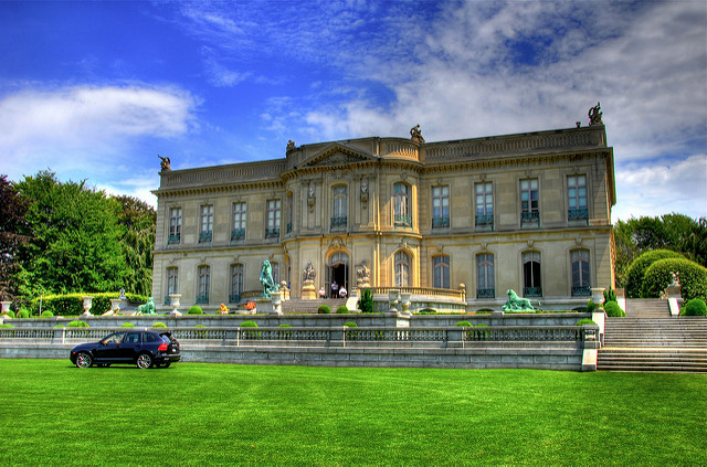 3. The Elms: This breathtaking Newport mansion was designed after the mid-18th century French chateau d'Asnieres in Paris.
