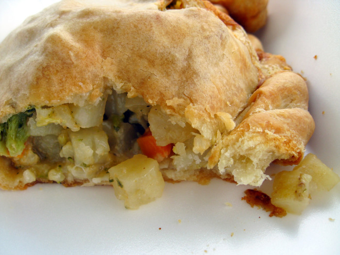 7. For lunch, you can't go wrong with one of our famous Michigan dishes. Grab a pasty...
