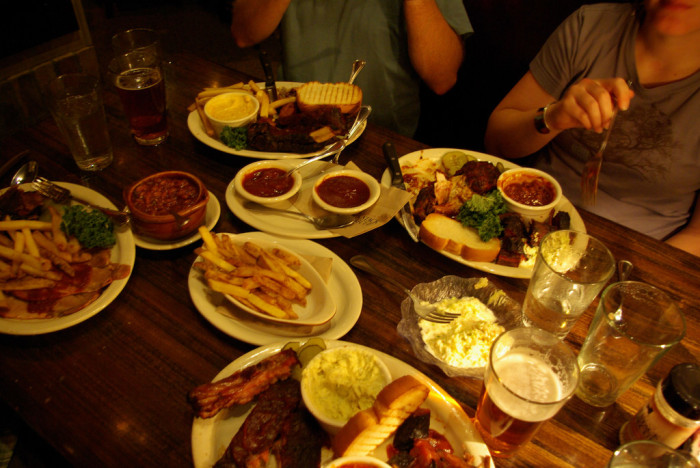 4. ...and KC BBQ as humanly possible.