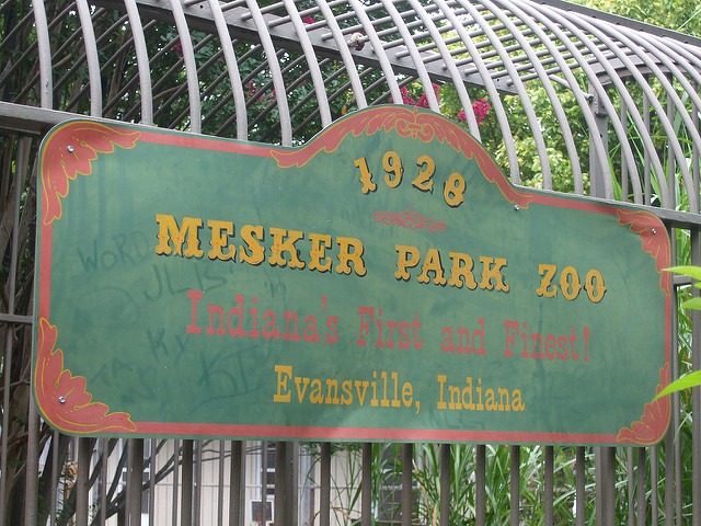 8. Mesker Park Zoo and Botanic Garden (Evansville)