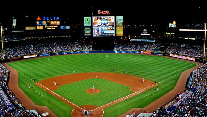 2. Attended an Atlanta Braves game