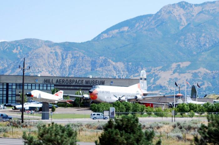 Visit Hill Aerospace Museum.