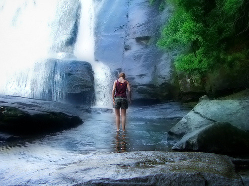 6. The photogenic High Falls in DuPont State Forest is the perfect place for adventure.