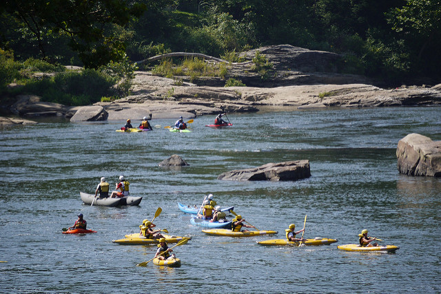 2. Go kayaking at Ohiopyle State Park.