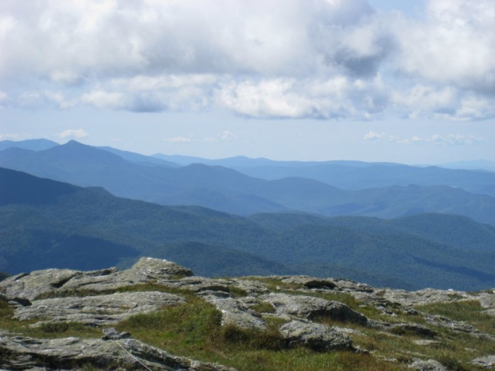 4.  Enjoy the views from the top of Mt. Mansfield on a clear day.