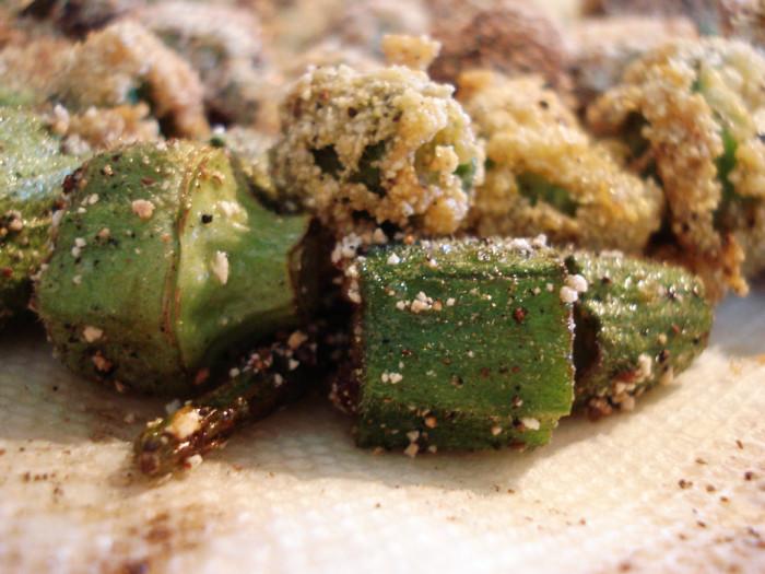 8. Ate deep fried vegetables