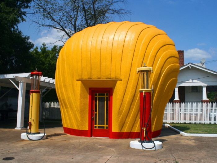 7. The Last Shell Clamshell Station, Winston-Salem