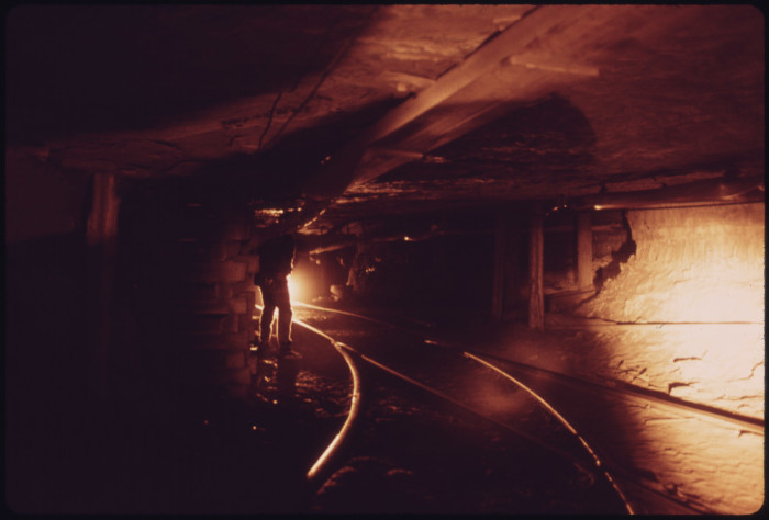 8. An insight into the working conditions for the coal miners.