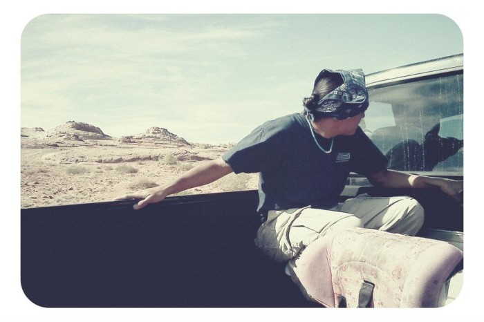 8. You've perfected how to sit in the pickup bed while riding down a dirt road.